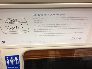 Not only does Google know my name, it knows which train I'm likely to be on! | by Dave Reinhardt