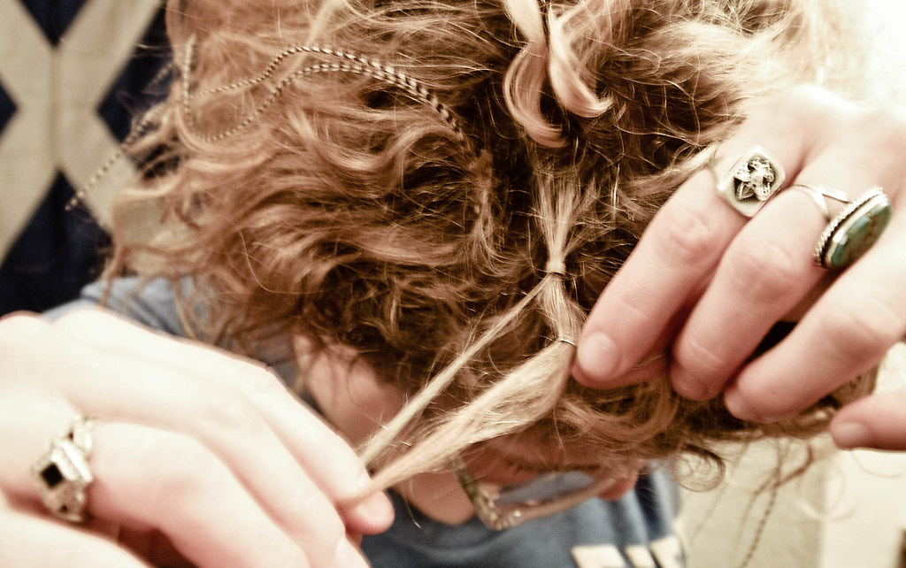 Diy Feather Hair Extensions See More Diy And Crafty Things Flickr
