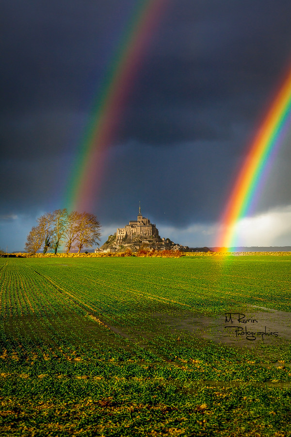 Coup De Chance un petit coup de chance sur le mont saint-michel ! | flickr