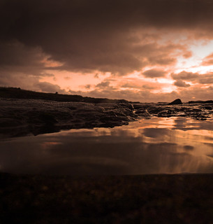 New Year Rock Pool Sunset 1 | by g crawford