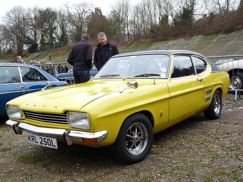 ford capri 1600 xl 1973 new years day gathering 2012 brook flickr. Black Bedroom Furniture Sets. Home Design Ideas