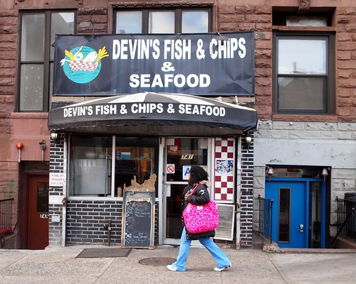 Seafood store hamilton heights new york city devin 39 s for Devins fish and chips