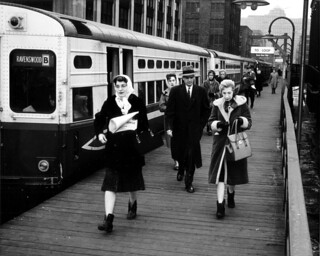 Passengers at Chicago, March 1962 | by cta web
