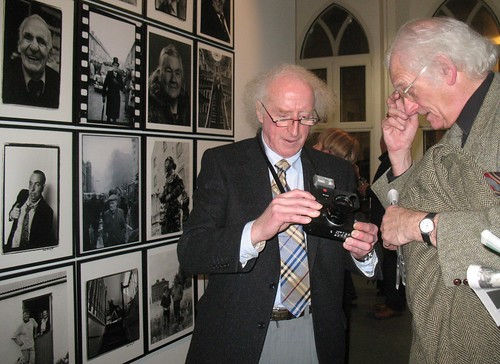Exhibition D Free : Bobbie hanvey photographer at the opening
