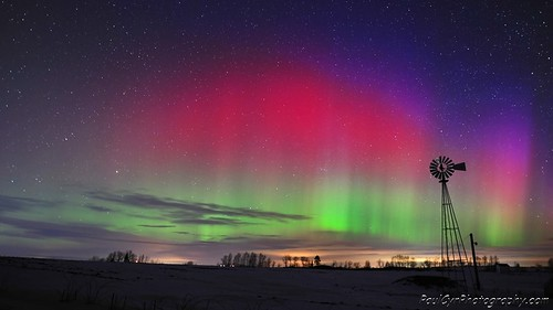 Northern Lights in Aroostook County Maine | by PaulCyrPhotography.com