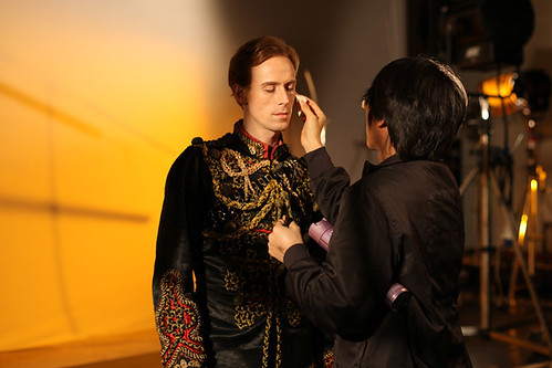 Edward Watson on the set of the Spring 2012 World Stage shoot © ROH 2012 | by Royal Opera House Covent Garden