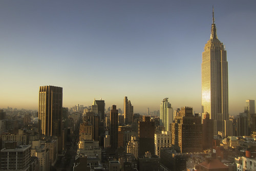 empire state building sunrise | by Homemade
