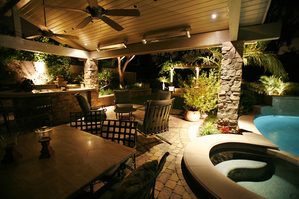 ... Enchanting Outdoor Lighting By Land Mechanics, Inc. | By Landscape  Design Advisor
