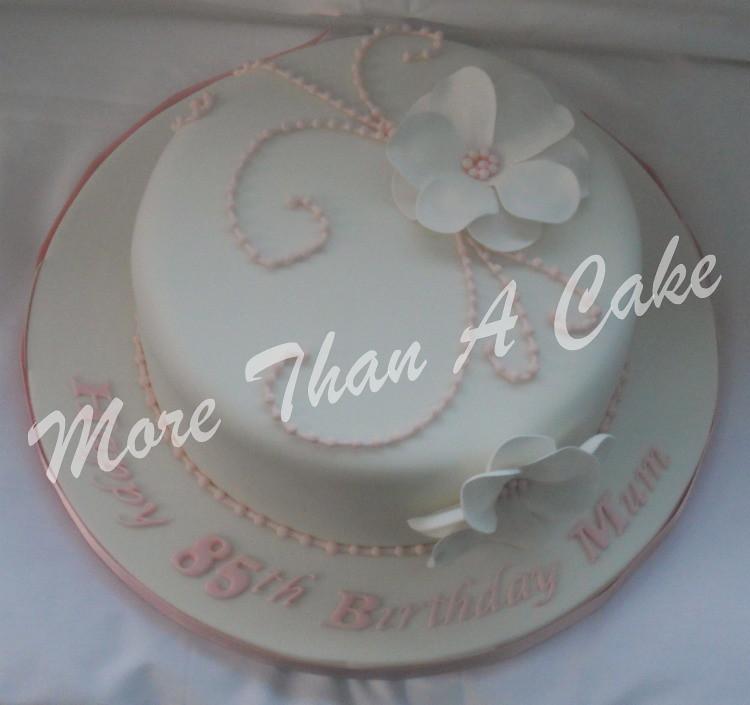 85th Birthday Cake Natalie Robinson Flickr