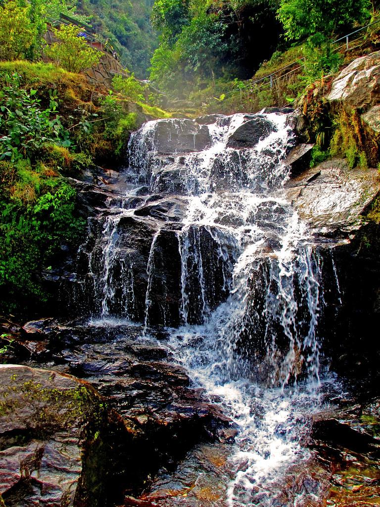 ... Rock Garden Waterfall, Darjeeling | By Sir_watkyn