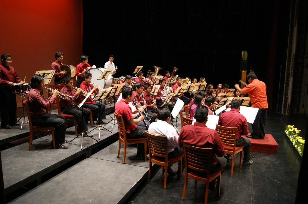 Como marco musical del Premio, se presentó la Banda de ali… | Flickr
