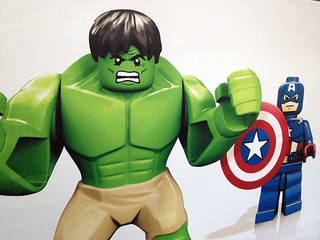 London ToyFair 2012: Lego Marvel SuperHeroes Avengers | by fbtb