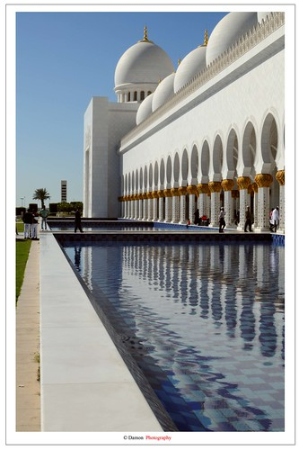 Sheikh Zayed Grand Mosque ( Reflection ) | by Damon | Photography