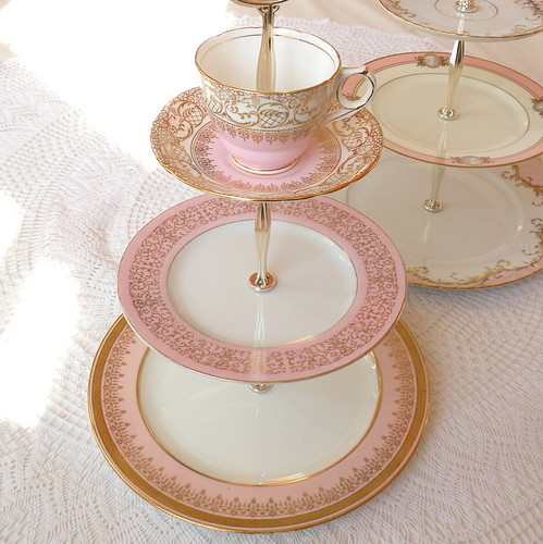 Tier Cake Plate Stand