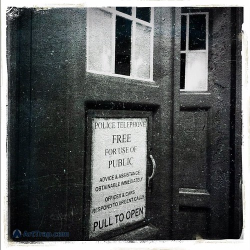 48 years ago today, people first discovered that a British Police Box could be bigger on the inside… #DoctorWho #TARDIS #scifi | by Louis Trapani