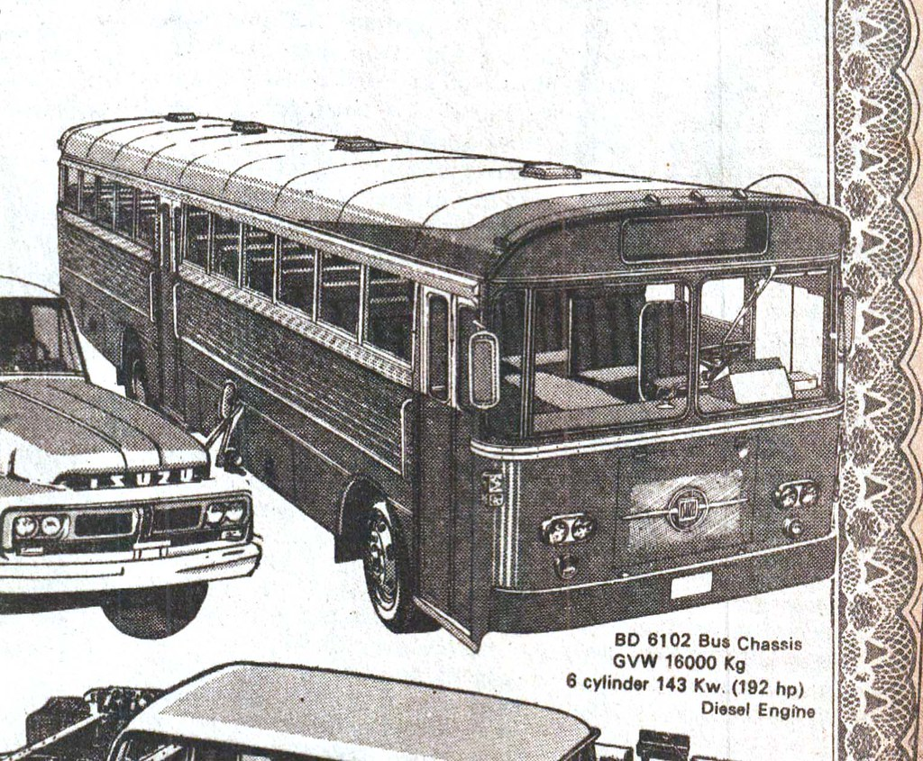 1976 0327 isuzu gm bus ad | from the times journal - march 2… | flickr