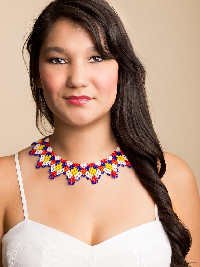Beautiful inuit women