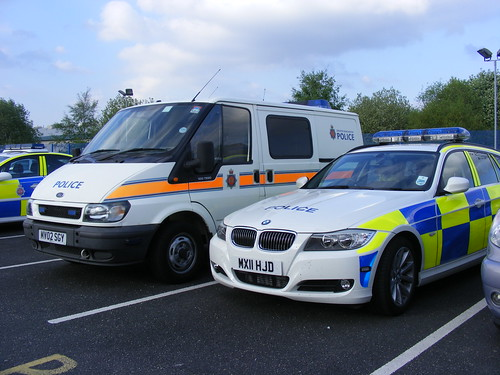 1371 - GMP - Greater Manchester Police - Ford Transit van - MV02 SGY & BMW 3 Series - MX11 HJD - RPU | by Call the Cops 999