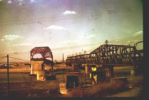 Kansas City Broadway Bridge Under Construction Color S