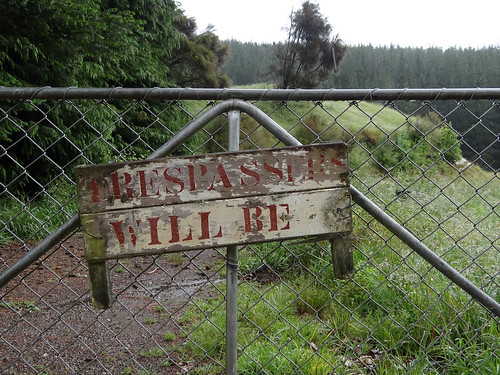 Trespassers will be ... | by Home Land & Sea