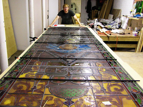Restoration-St.Alphonse | by Northern Art Glass