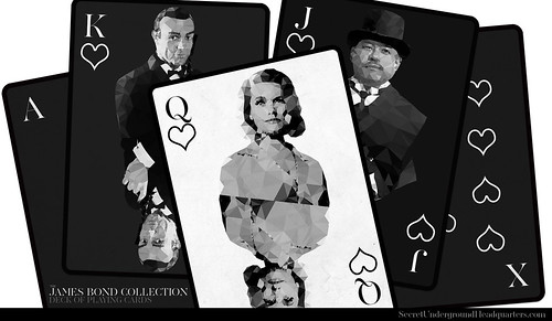 James Bond Playing Card Collection - Royal Flush | by Joe D!