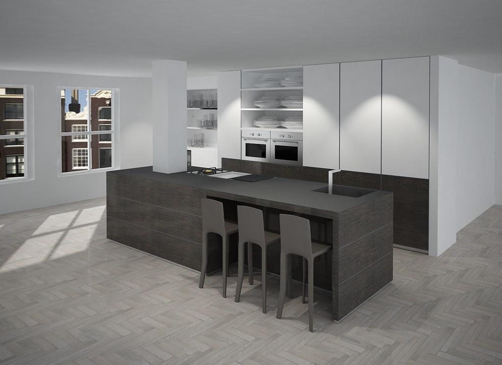 Keukeneiland T Vorm : Moderne keukens met eiland vcs agneswamu