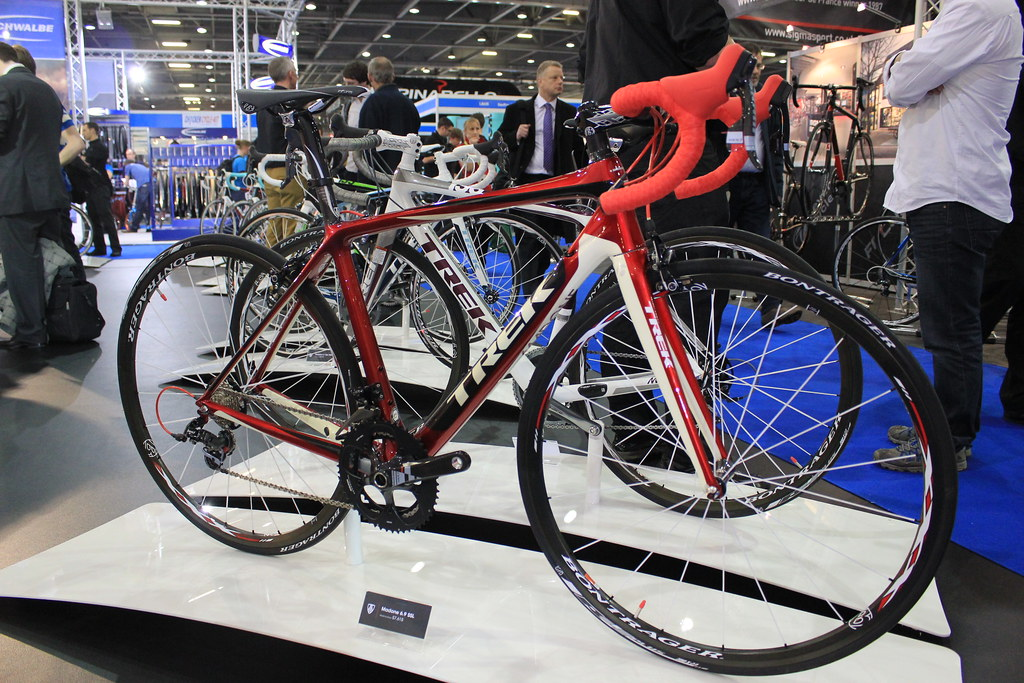 Trek bike at the Bike Show