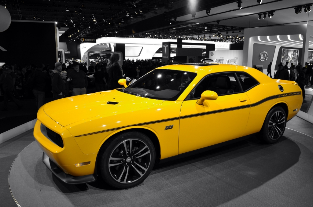 2012 Dodge Challenger Srt8 392 Hemi Yellow Jacket Scott597 Flickr