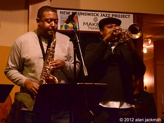 Brian and Lee Hogans, Lee Hogans Quartet, New Brunswick Jazz Project | by jackman on jazz