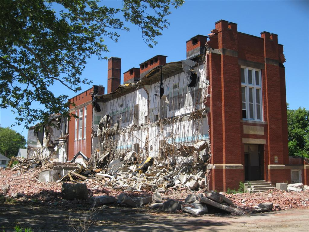 Rozelle School Demolition--East Cleveland, Ohio | Flickr