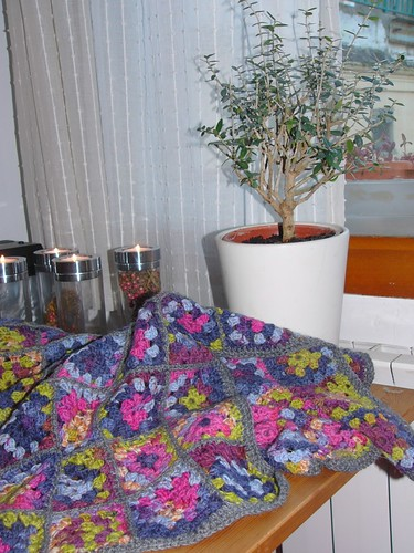 My homemade (by me) granny-blanket... | by annette_barca
