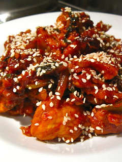 Singlish Swenglish Korean Spicy Stir-Fried Pork Doejibulgogi | by send2sasa