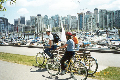 Image result for bicycles in vancouver images