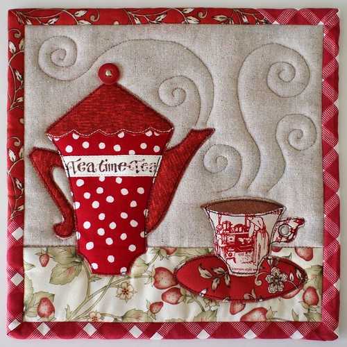 TeaTime Trivets | by PatchworkPottery