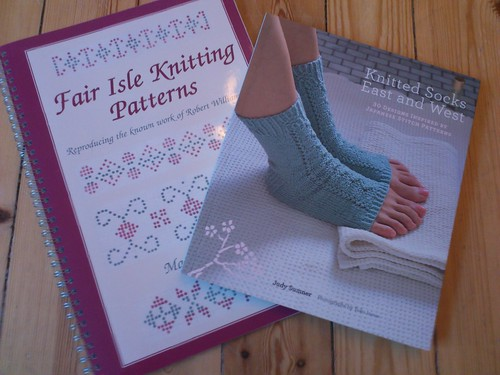 new knitting books | by katarina w