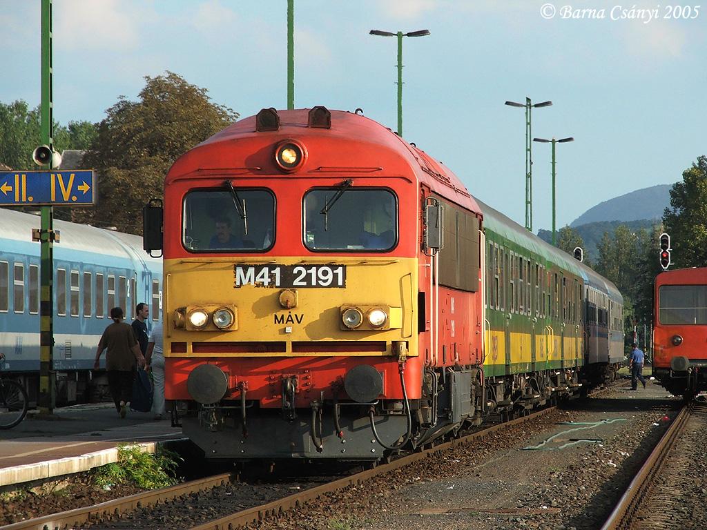 ... MÁV M41 2191, Tapolca, Hungary | by bcsanyi