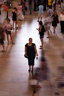 Annabel in Grand Central Station | by MacBeales