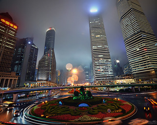 Shanghai Lujiazui - Running in Circles (China) | by Andy Brandl (PhotonMix)