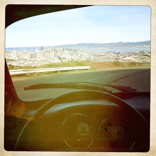 San Francisco through the windshield | by spieri_sf