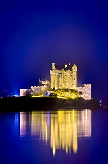 Eilean Donan Castle at night, final one for the moment.. Honest!! | by editguy.co.uk