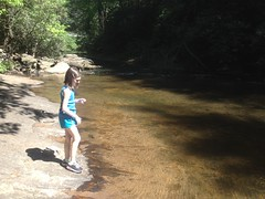 Sophie at Dicks Creek