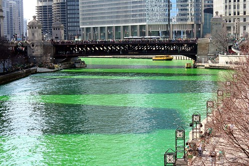 Chicago River on St Patrick's Day | by Marit & Toomas Hinnosaar