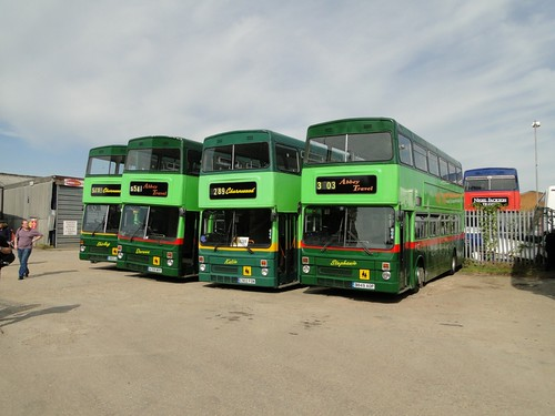 ex-WM Metrobuses at Abbey Travel | by Sherpa_536