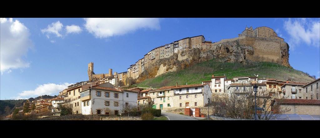 Panorámica de Frías (Burgos)