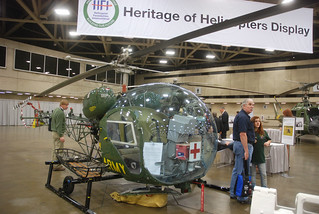 A Bell OH-13 represented the earliest and most basic in helicopter technology. | by GretemanGroup