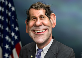 Sherrod Brown - Caricature | by DonkeyHotey