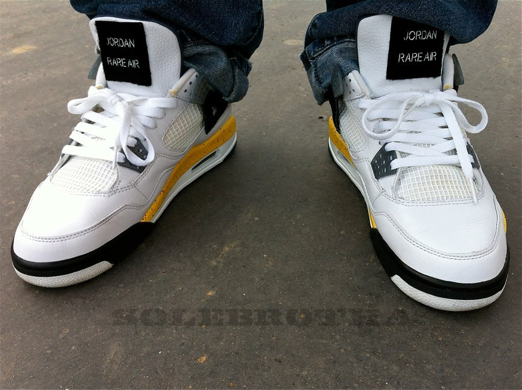 b6061c9b96fbca ... australia air jordan retro iv tour yellow by sole.brotha 52979 cf846