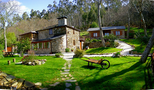Ultreia rural b b ultreia rural bed and breakfast con - Casas con encanto en galicia ...