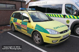 NIAS / AMBULANCE / Ford Focus Estate / Rapid Response Vehicle | by Calvert Photography